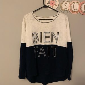 Madewell light sweater